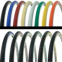 """2 Tires Wanda 26/"""" x 1.50/"""" Blue//Blue Sidewall G-5013 Heavy Duty Bicycle Tire"""