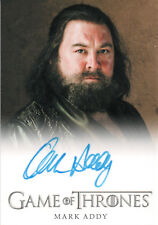 Game of Thrones Season One, Mark Addy 'King Robert' Autograph Card