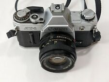 Canon AT-1 Camera + FD 50mm 1:1.8 Lens - Made in Japan