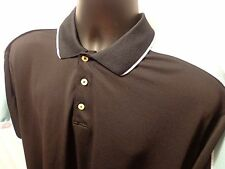 Bolle Dry Tech Golf Short Sleeve Polo Rugby Black L 100% Polyester