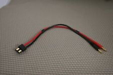 TRAXXAS TO BANANA PLUG BATTERY CHARGE 12AWG LEAD CABLE CONNECTOR USA SELLER