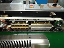 110v Usa Stocked Stainless Steel Horizontal Band Sealer Amp Embossing Machine