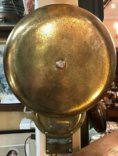 Henschel Corporation Amesbury Mass US Navy Bronze Bulkhead Bell