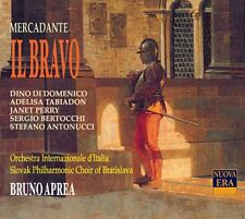 ██ ║ opera Saverio Mercadante (* 1795) ║ il bravo ║ Bruno Aprea ║ 2cd