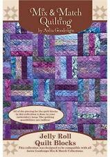 Anita Goodesign Jelly Roll Quilt Blocks Embroidery machine Design CD