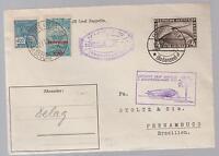 1931 Germany Graf Zeppelin Cover to Pernambuco Brazil Mixed Franking LZ 127