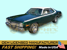 1973 1974 Dodge Dart Sport Over Roof Amp Tail Panel Complete Decals Amp Stripes Kit