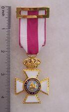 Spain Order of Hermandalgo Knights Badge