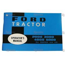 Ford 2000 3000 4000 5000 Tractor Operator's Owner's Instruction Manual 65-68 NEW