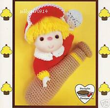 """POPCORN""~Crochet~Cupcake Corner~Dumplin Designs"