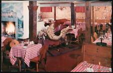 FRANCONIA NH Mittersill Alpine Inn Restaurant Dining Rm