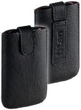 Titan Leder Tasche Etui Case für HTC HD2 HD 2 m EasyOut