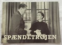 The Strange Affair of Uncle Harry George Sanders Vtg 1945 Danish Movie Program