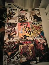 X-Men Comic Lot Of 12