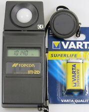 Topcon Digital Illuminance Meter IM-2D Belichtungsmesser Luxmeter Lux