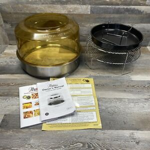 NuWave Pro Plus Oven Amber Dome and Stainless Extender Ring & Racks Replacement