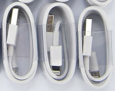 3X 8Pin USB Data Sync Charger Cable Cord for iphone 5 5S 5C 6 5S ipad4
