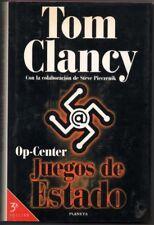 OP-CENTER - JUEGOS DE ESTADO - TOM CLANCY