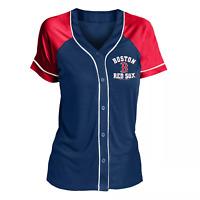 MLB Boston Red Sox Women's Fashion Jersey - Nwt - Ships Free - Lightweight