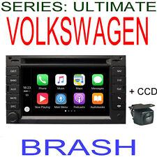VOLKSWAGEN GOLF IV 1998-2004 GPS NAVIGATION DVD APPLE CAR PLAY ANDROID + CAMERA
