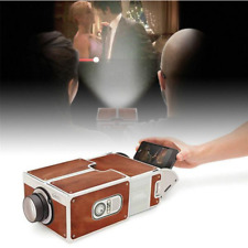 Mini Smart Phone Projector DIY Cardboard Home Theater Cinema for Android iPhone