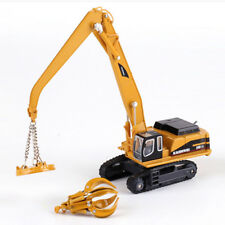 Diecast Hydraulic Material Handling Excavator 1:87 Scale Construction Model