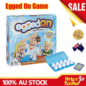 OZ Kids Family Fun Activity Egged On Spinner Roulette Challenge Party Board Game