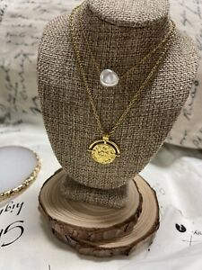 Necklace Doble X221 Stainless Steel 💐swneck Contellastion
