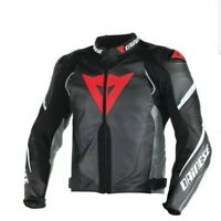 """DAINESE"" Super Speed Perforated Leather Jacket Mens Motorcycle Motorbike Track"