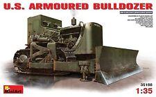 MiniArt - 35188 - U.S. ARMOURED  BULLDOZER - 1:35