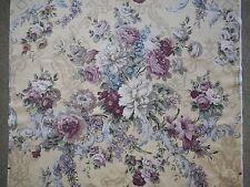 Lovely unused vintage 50's, 60's Sanderson linen union fabric - 1.2M lengths