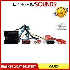 CT20AU08 Half Amplified Radio Wiring Harness Adaptor For  Audi A3, A4, A6, TT