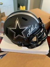 Troy Aikman Cowboys SIGNED ECLIPSE ALTERNATE MINI HELMET Beckett Cert