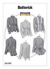 Schnittmuster Viktorianische Jacken (2); Gr. 32-40