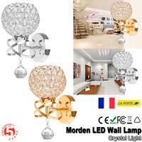 Moderne Lampes de chevet Lampes Murales en Cristal Appliques murales Agencements