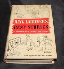 Ring Lardners Best Stories by William McFee - 1938