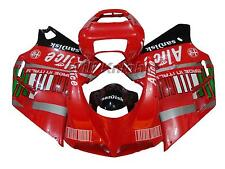 Red Injection Body Fairing Cover Kit for Ducati 748 916 996 998 Year 1996-2002