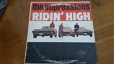 THE IMPRESSIONS - RIDIN' HIGH - LP