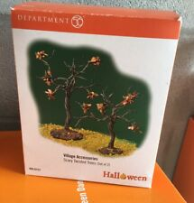 Dept 56 Halloween Accessories Halloween Scary Twisted Trees #53131 Set Of 2