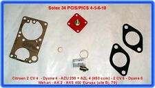 Citroen 2 CV,Dyane,AZU,AZL,Solex PICS - PCIS,Vergaser Rep.Satz