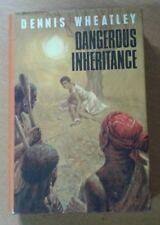 Dennis Wheatley : Dangerous Inheritance 1st BCA edition Hutchinson(Hardback 1965