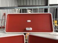 Sonoro Cube Dock AU 7000 Plus Wandhalterung inkl. Weiß /Rot  RAR