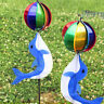 Rainbow Wind Spinner Colorful Windmill Cute Cartoon Animal Winnower Kids Toy Lot