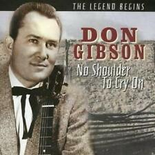 """Don Gibson """"No Shoulder To Cry On"""" NEW CD - 20 Tracks 1st Class Post From The UK"""