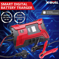 X-BULL Battery Charger 12V 6A Digital Automatic Maintainer Deep Cycle