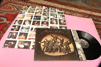 PAUL MC CARTNEY BEATLES LP BAND OF ORIG ITALY 1973 EX POSTER AND SHRINK COVER !!