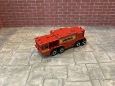 Hot Wheels Airport Fire Truck Vintage Blackwall BW France French Super Rare