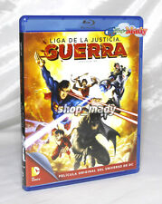 Liga de la Justicia GUERRA - Justice League WAR - Blu-Ray Español Latino NEW!