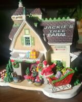 Lemax Carole Towne Jackie's Tree Farm 2007 Collection Christmas