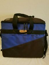 """iMAC iLugger 20"""" Padded Laptop Carrying Case with Strap, Backpack Blue Black"""